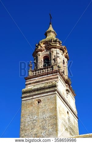 View Of San Bartolome Church (iglesia De San Bartolome) Bell Tower, Carmona, Seville Province, Andal