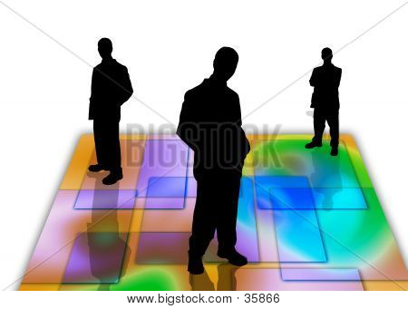 Business People Shadows