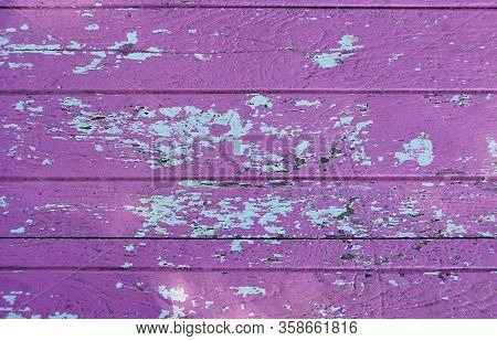 Natural Purple Wooden Background, Texture Painted Wood Surface, Textured Abstract Background, Beauti