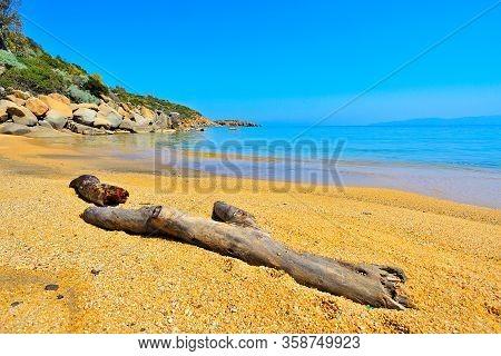 Spiaggia Delle Caldane. Isola Del Giglio. Grosseto. Toscana. Italia