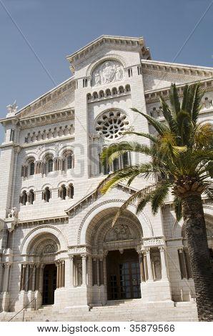 Saint Nicholas Cathedral Cathi??drale de Monaco Monte Carlo poster