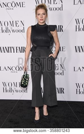 LOS ANGELES - FEB 06:  Katheryn Winnick {Object} arrives for Vanity Fair Lancome Women in Hollywood Party on February 06, 2020 in West Hollywood, CA