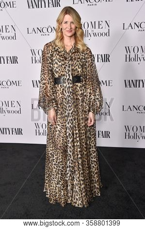 LOS ANGELES - FEB 06:  Laura Dern arrives for Vanity Fair Lancome Women in Hollywood Party on February 06, 2020 in West Hollywood, CA