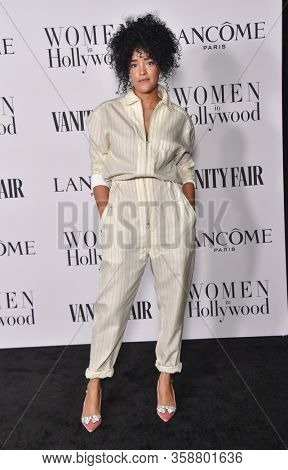 LOS ANGELES - FEB 06:  Bahia Watson {Object} arrives for Vanity Fair Lancome Women in Hollywood Party on February 06, 2020 in West Hollywood, CA