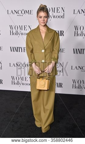 LOS ANGELES - FEB 06:  Sarah Jones {Object} arrives for Vanity Fair Lancome Women in Hollywood Party on February 06, 2020 in West Hollywood, CA