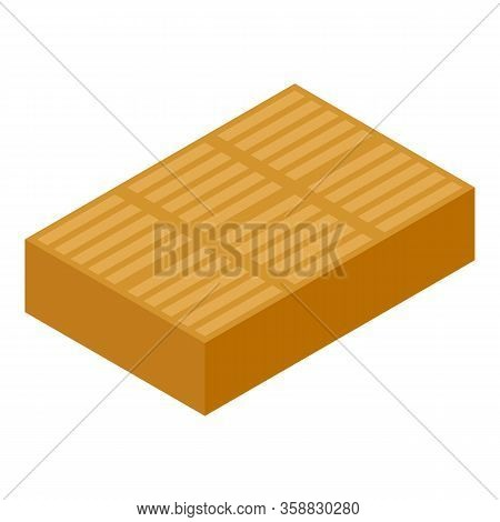Toffee Bar Icon. Isometric Of Toffee Bar Vector Icon For Web Design Isolated On White Background