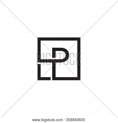 Initial P Letter Logo Design Vector Template. Monogram And Creative Alphabet P Letters Icon Illustra
