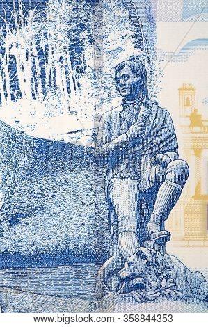 Robert Burns - Statue From Scottish Money