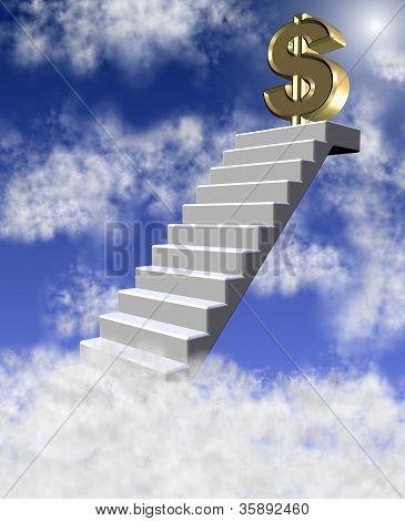 Dollar In Clouds