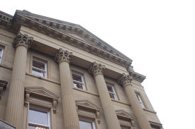 Historic Bank Building In Chester