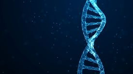 Medical Science, Genetic Biotechnology, Chemistry Biology, Gene Cell Concept.