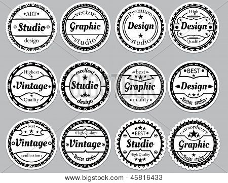 Collection Of Different Extraordinary Labels