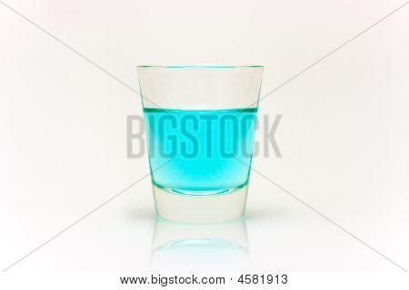 Shot Of Blue