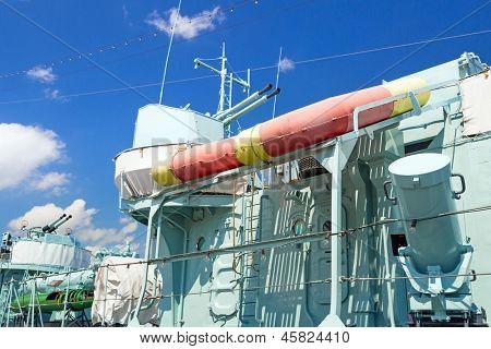 GDYNIA, POLAND - MAY 19: Polish destroyer