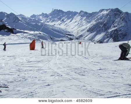 Skiing In Ischgl
