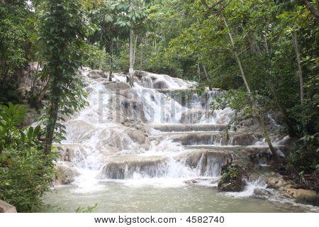 Waterfall In Jamica