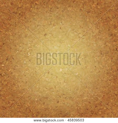 Cork Wallpaper, Vector Illustration