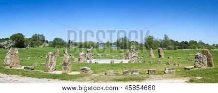 Stone Circle Willen Lake Milton Keynes