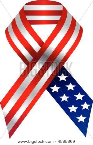 Vector Usa Ribbon