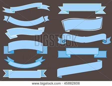 vector ribbons pack