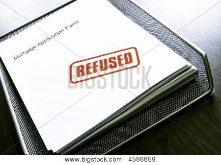 Mortgage refused