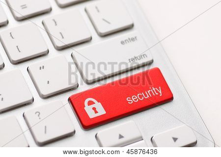Security Button Key