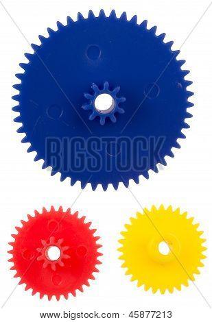Plastic Gearing Wheels