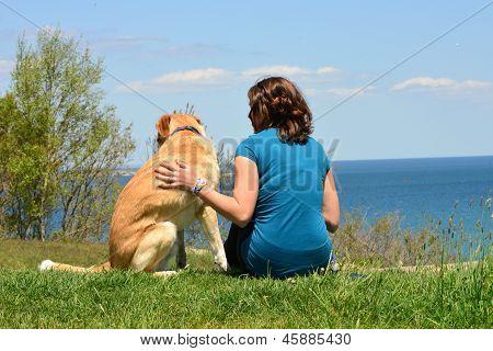 Girl and her Dog II