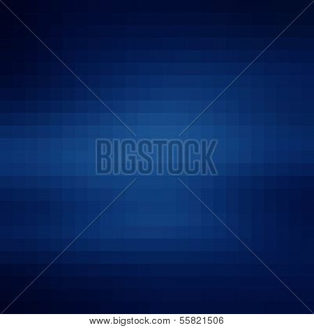 Abstract blue geometric gradient background