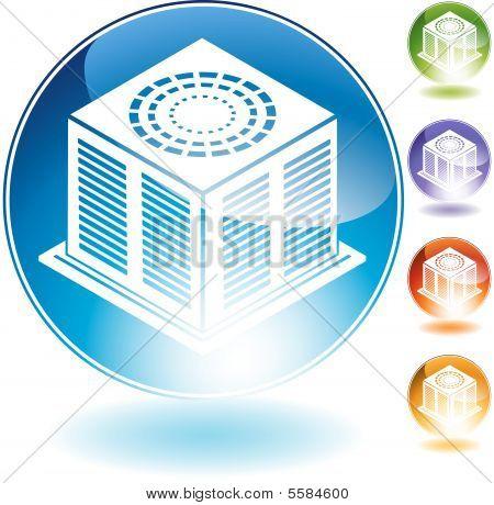 Icono de acondicionador de aire