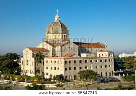 CUBA - DECEMBER 30: Iglesia de Jesus de Miramir church in Havana, Cuba.