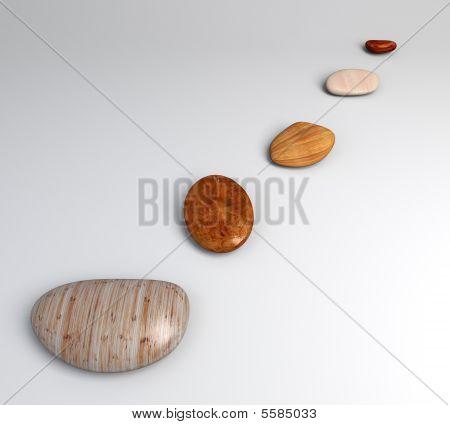Pebble Wood Top