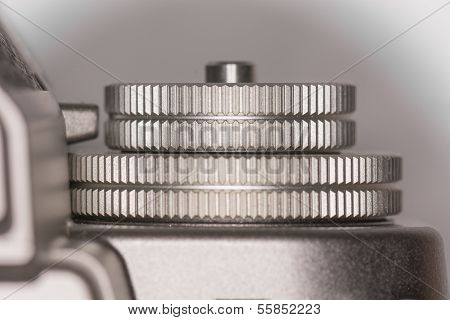 Dials On Top Of Camera