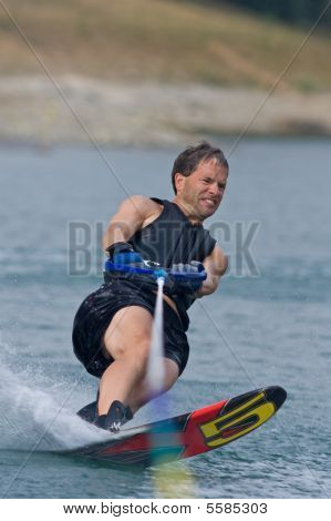Waterskiing Competition