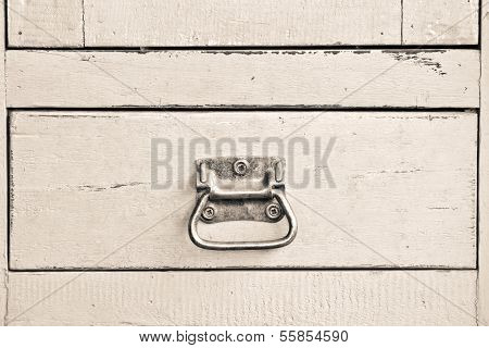 Wooden Blue Cabinet