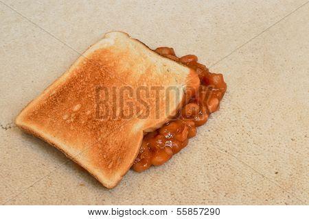 Beans Carpet Stain