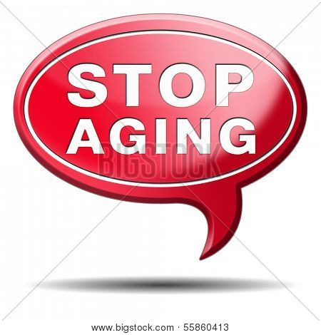 stop aging stay joung forever staying and looking younger than you are not growing old