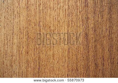 Teak Wood Surface - Vertical Lines