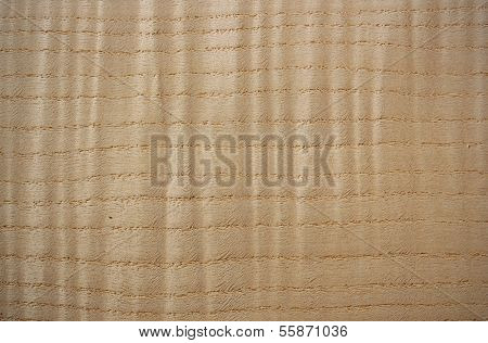 Curly Ash Wood Surface - Horizontal Lines