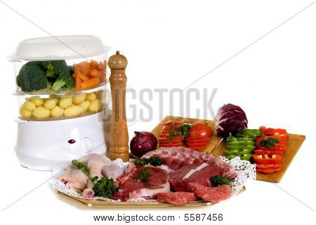 Steam Cooker, Steak