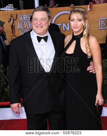 LOS ANGELES - JAN 27:  John Goodman arrives to the SAG Awards 2013  on January 27, 2013 in Los Angeles, CA