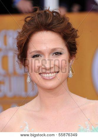 LOS ANGELES - JAN 27:  Ellie Kemper arrives to the SAG Awards 2013  on January 27, 2013 in Los Angeles, CA
