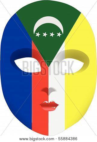 Comoros Mask