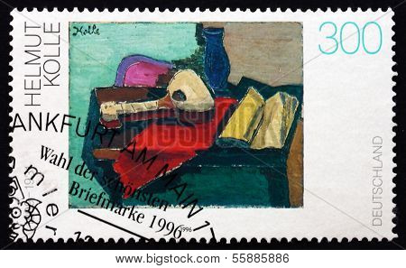 Postage Stamp Germany 1996 Still Life, By Helmut Kolle