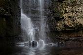 Swallet Falls In The Peak District Sheffield Uk poster