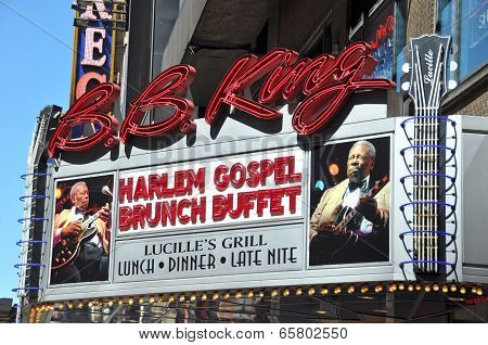 Bb King Blues Club & Grill 42Nd Street, New York