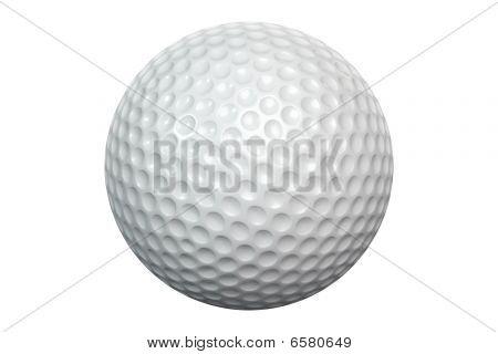 Golfballisolatedwhite
