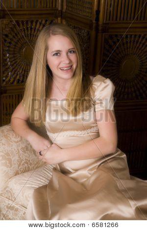 Gold Formal Sitting