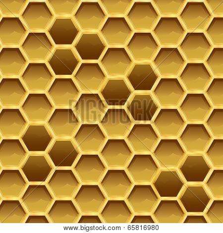 Create Honeycomb With Larvae Texture