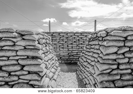 Trench Of Death World War 1 Belgium Flanders Fields